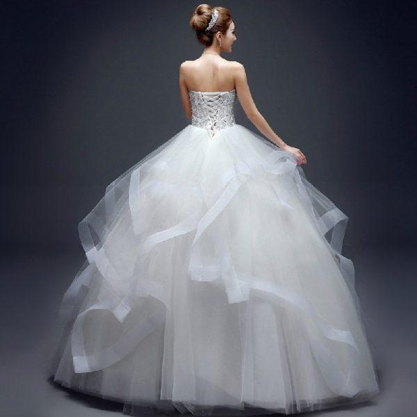 Fashion Strapless Wedding Dresses