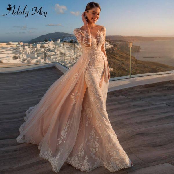 Gorgeous Appliques Wedding Dress