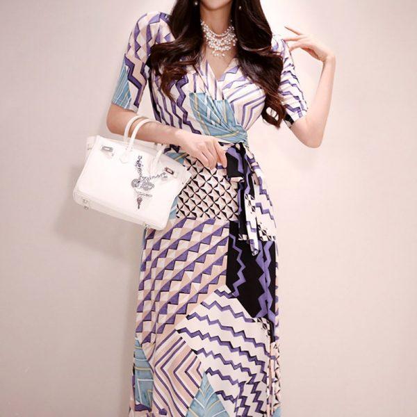 Maxi Floral Dress Print Dresses