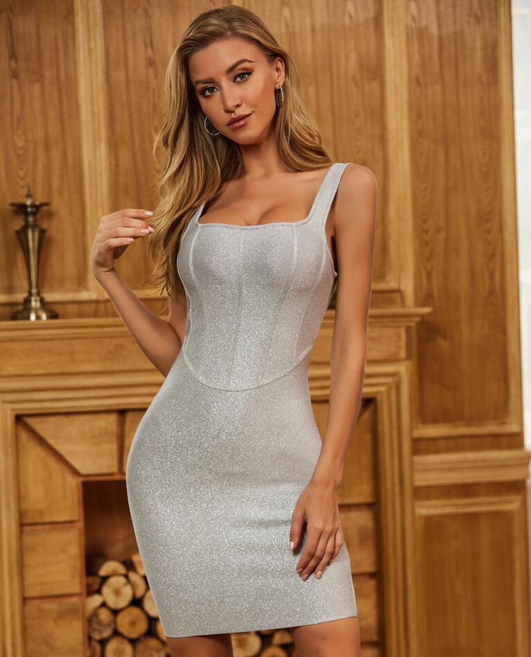 Sexy Bodycon Bandage Dress