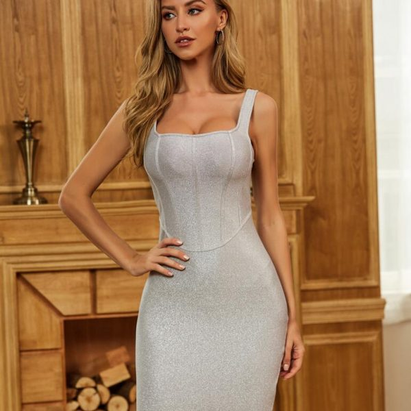 Sexy Bodycon Bandage Dress