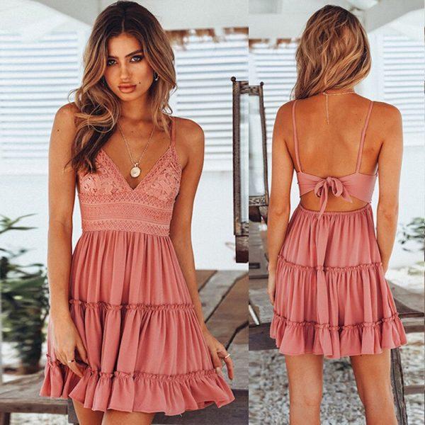 Sexy Strappy Mini Dresses