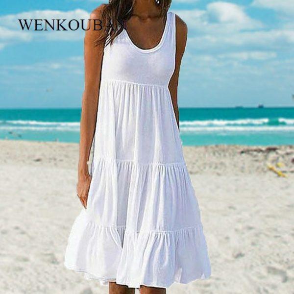 Sleeveless Party Beach Dress