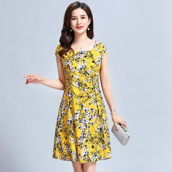 Women Summer Midi Dress