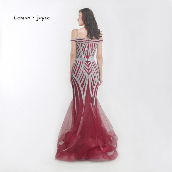 Crystal Diamonds Evening Dresses