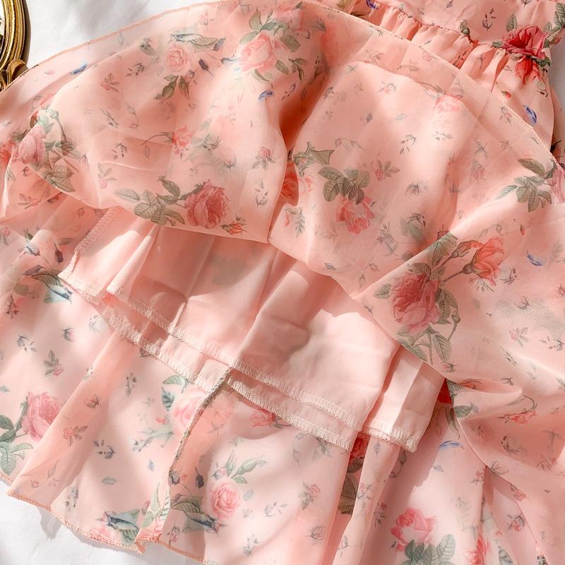 Chiffon Dress Summer Temperament